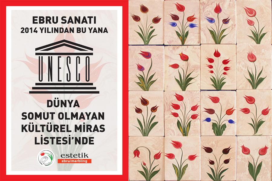 Ebru sanatı UNESCO Dünya Miras Listesi'nde